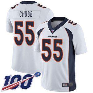Broncos Bradley Chubb 100th Season Jersey 1